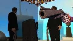 Joker Guasón/cañón del arma