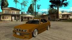 BMW e34 Drift Body para GTA San Andreas