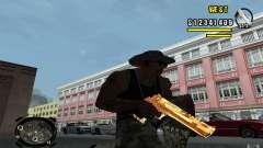 Gold Weapon Pack v 2.1 para GTA San Andreas