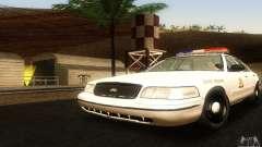Ford Crown Victoria Utah Police para GTA San Andreas