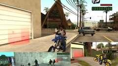 El guión de CLEO: Mototûning y Freestyle Motocross para GTA San Andreas