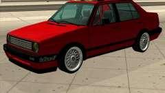 Volkswagen Jetta 1987 Eurostyle para GTA San Andreas