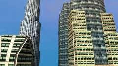 Nueva textura de rascacielos Downtown