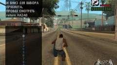 Gestión del tráfico para GTA San Andreas