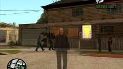 CJ fantasma 1 versión para GTA San Andreas