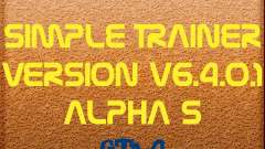 Simple Trainer Version v6.4.0.1 alpha 5 para GTA 4