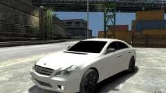 Mercedes Benz CLS Brabus Rocket 2008 para GTA 4