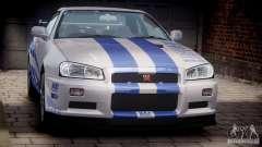 Nissan Skyline GT-R34 FNF