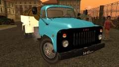 GAZ 53 petrolero de la leche para GTA San Andreas