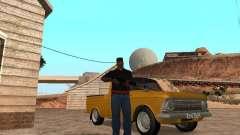Armas en el maletero para GTA San Andreas