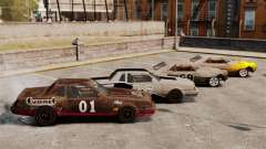 Nuevo colorante oxidado Vigero y Sabre para GTA 4