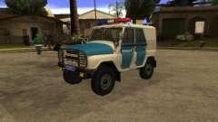 UAZ 31519 policía