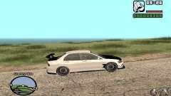 Mitsubishi Lancer Evolution 8 Carbon para GTA San Andreas