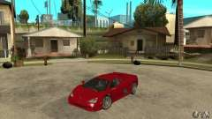 SSC Ultimate Aero Stock version para GTA San Andreas
