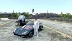 Koenigsegg Agera R para GTA 4