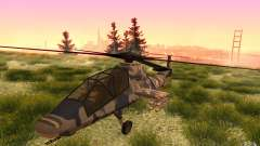 Sikorsky RAH-66 Comanche Camo para GTA San Andreas