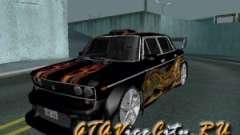 Melodía 2106 VAZ GTX para GTA San Andreas