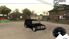 Mercedes-Benz G500 FBI para GTA San Andreas