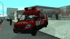 Mercedes-Benz Sprinter R-4 para GTA San Andreas