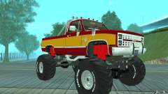 Chevrolet Silverado 2500 MonsterTruck 1986 para GTA San Andreas