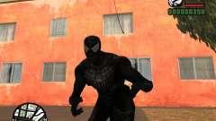 Enemigo del hombre araña en la reflexión