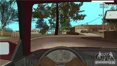 Cámara de la primera persona en el coche para GTA San Andreas