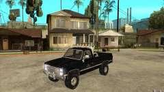 GMC Sierra 1986 FBI para GTA San Andreas