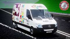 Mercedes-Benz Sprinter Euro 2012 para GTA 4