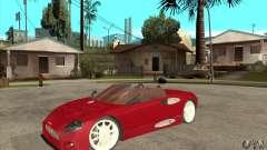 Spyker C8 Spyder para GTA San Andreas