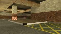El nuevo garaje subterráneo por la policía en Lo