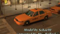 Ford Crown Victoria Taxi para GTA 4