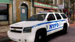 Chevrolet Tahoe New York Police para GTA 4