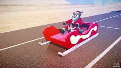 Santa Sled normal version para GTA 4