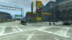Shell Petrol Station V2 Updated para GTA 4