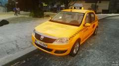 Dacia Logan Facelift Taxi