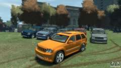 Jeep Grand Cherokee SRT8 para GTA 4