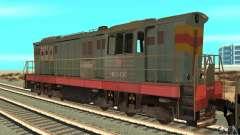 Locomotora ChME3-4287 para GTA San Andreas