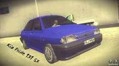Kia Pride 131 SX para GTA San Andreas