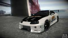 Toyota Supra MyGame Drift Team para GTA San Andreas