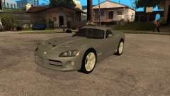 Dodge Viper Coupe 2008 para GTA San Andreas
