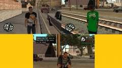reemplazo de la piel 3 Cj para GTA San Andreas