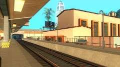 Las plataformas altas en las estaciones de tren
