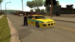 Sultan USSR Police para GTA San Andreas