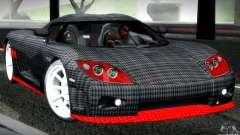 Koenigsegg CCX para GTA San Andreas
