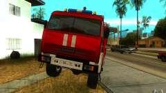 KAMAZ 43118 CA-7, 0-40 para GTA San Andreas
