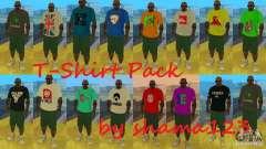 T-Shirt Pack by shama123 para GTA San Andreas