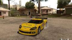 Chevrolet Corvette C6-R para GTA San Andreas