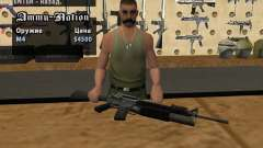 M16 con un M203