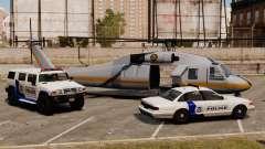 Estados Unidos Departamento de seguridad nacional para GTA 4