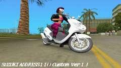 Suzuki Address 110 Custom Ver.1.3